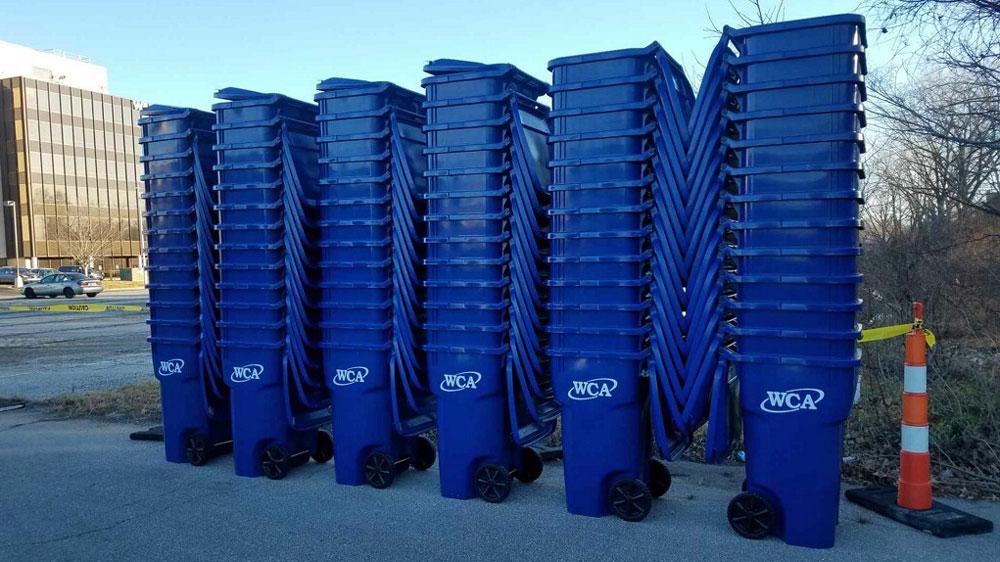 WCA Trash Rollcarts