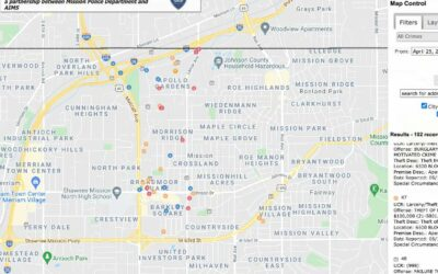 Mission Crime Map Now Online