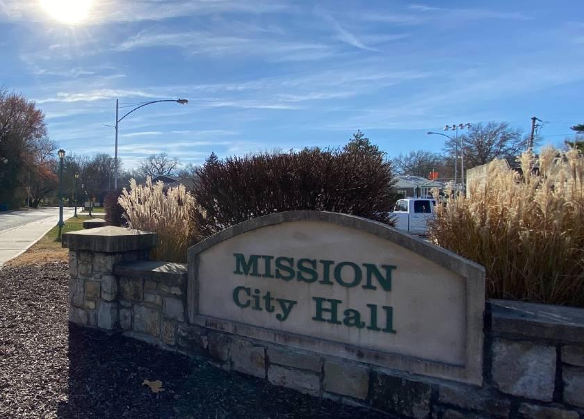 City Hall Sign with sun