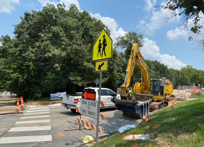 Closure of Intersection at Lamar Avenue and 51st Street