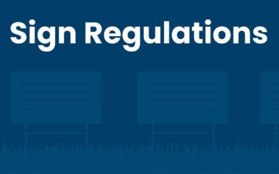 Political Sign Regulations